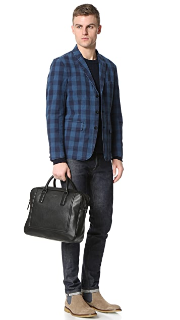 Ted Baker Ragna Leather Zip Briefcase