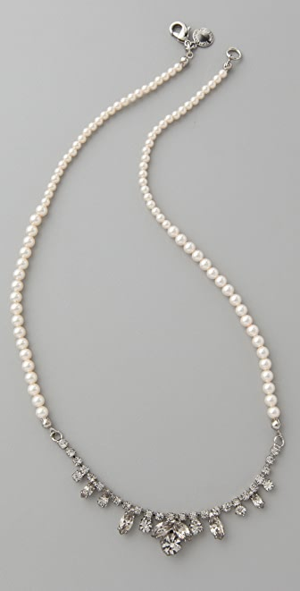 TOM BINNS Pearls in Peril Strand Necklace