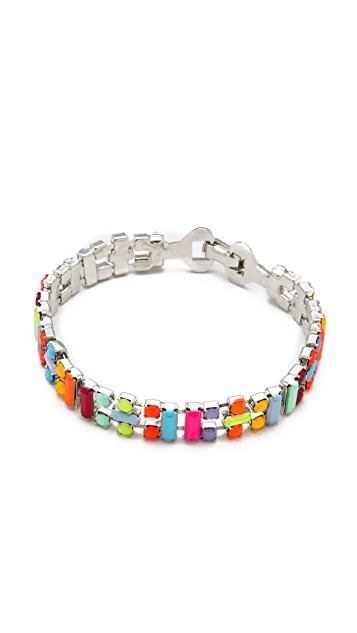 TOM BINNS Jazz Bracelet with Small Baguettes