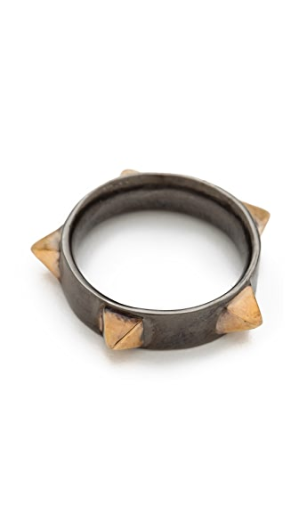 TOM BINNS Protopunk Ring with Spikes