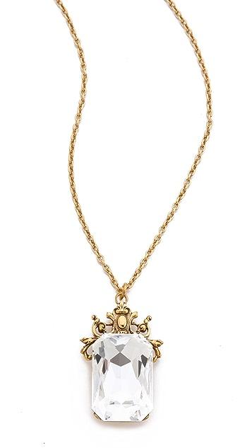 TOM BINNS Rokoko Dumont Pendant Necklace