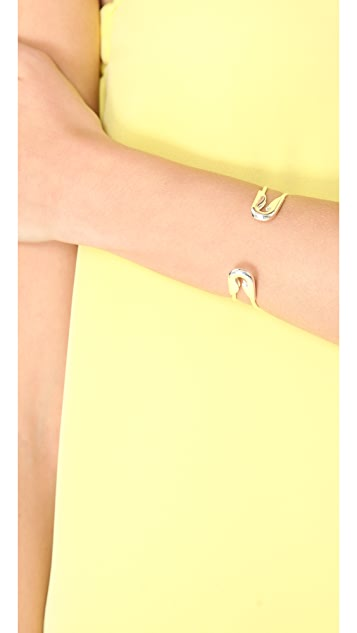 TOM BINNS Safety Pin Cuff