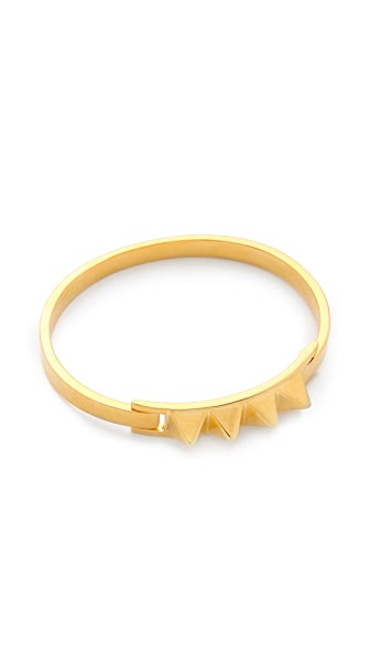 TOM BINNS Clash Studded Bangle