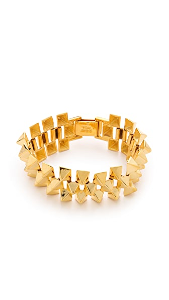 TOM BINNS Ultra Punk Three Row Bracelet