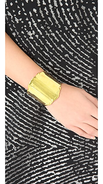 TOM BINNS Small Ripped Edge Cuff