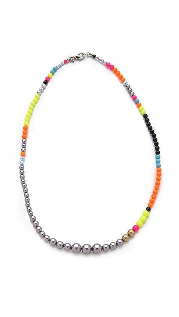 TOM BINNS Cuckoo Pearls Necklace