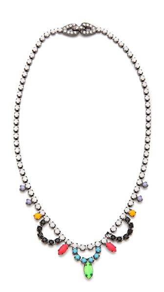 TOM BINNS Electric Clash Nova Bib Necklace