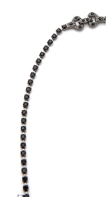 TOM BINNS Veil of Shadows Asymmetrical Necklace