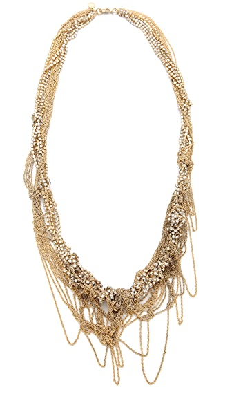 TOM BINNS Uber Urban Tangled Chains Necklace