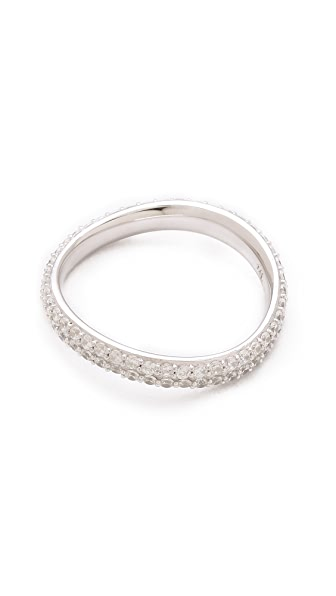 TOM BINNS Bejeweled Twisted Ring