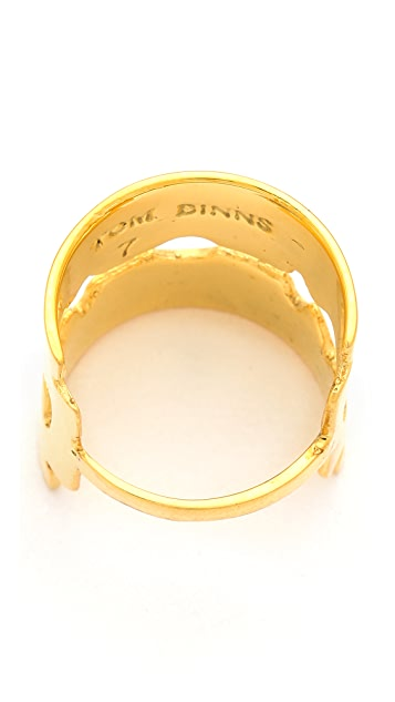 TOM BINNS Razor Blade Ring