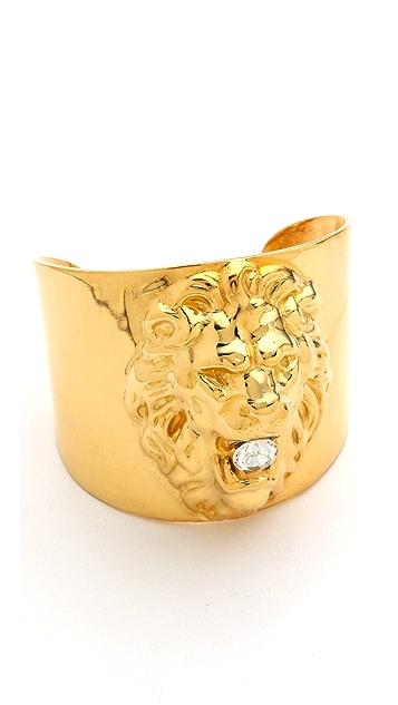 TOM BINNS Lion Cuff Bracelet