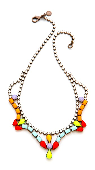 TOM BINNS Shadow Play Teardrop Necklace