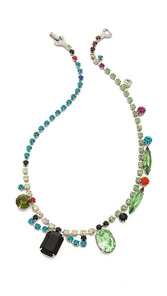 TOM BINNS Asymetric Crystal Necklace
