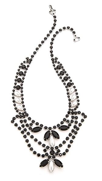 TOM BINNS Dumont Noir Tiered Necklace