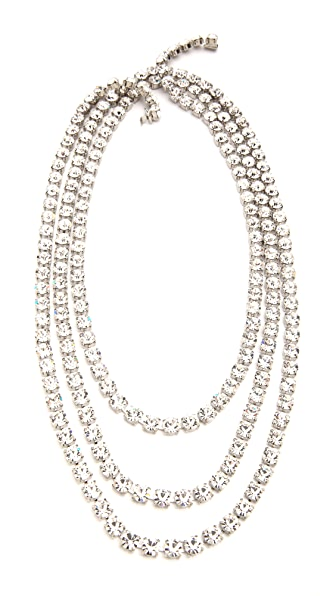 TOM BINNS Regal Gems 3 Strand Necklace