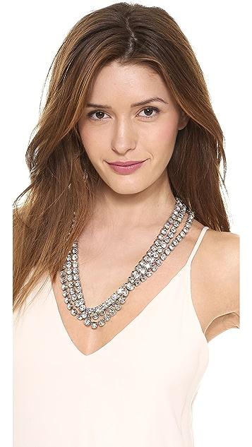 TOM BINNS Regal Gems 3 Strand Necklace