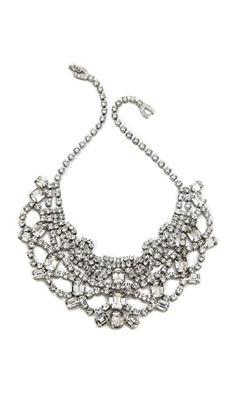 TOM BINNS Madame Dumont Tiered Bib Necklace