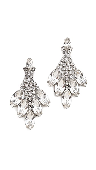 TOM BINNS Madame Dumont Marquis Stone Earrings