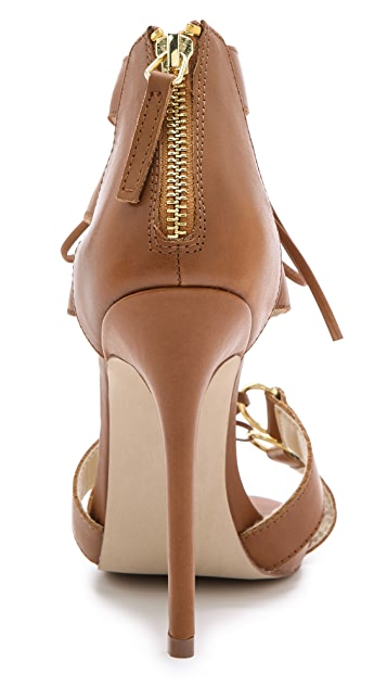 The Blonde Salad Steve Madden Monaco Lace Up Sandals