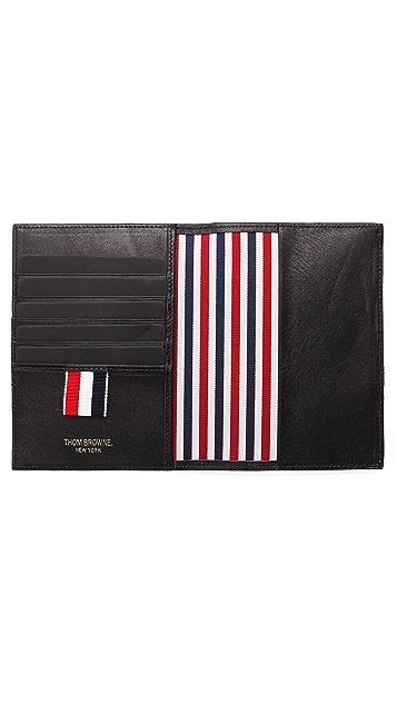 Thom Browne Leather Passport Case