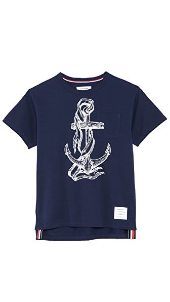 Thom Browne Anchor Pocket T-Shirt