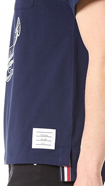 Thom Browne Anchor Pocket T-Shirt