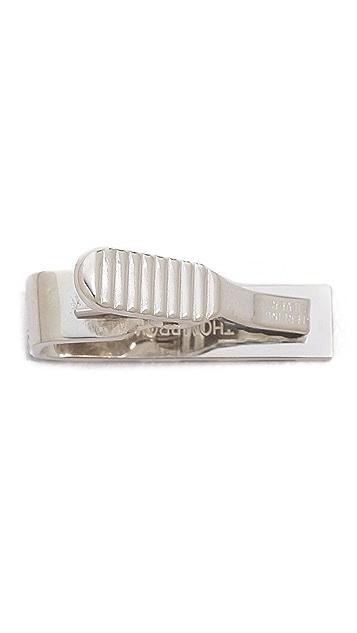Thom Browne Classic Silver Tie Bar