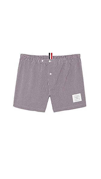 Thom Browne Micro Check Boxer Shorts