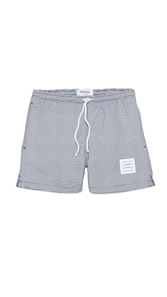 Thom Browne Seersucker Swim Trunks