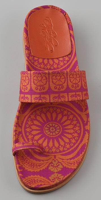 Theodora & Callum Morocco Toe Ring Sandals