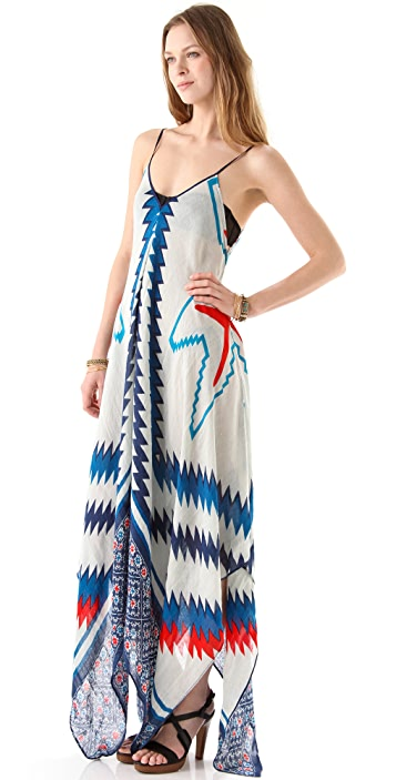 Theodora & Callum Cherokee Scarf Dress