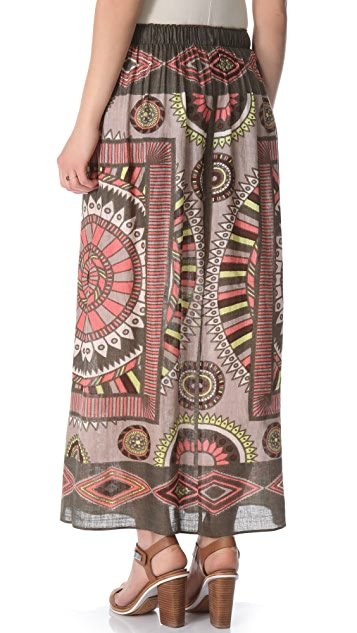 Theodora & Callum Phoenix Cover Up Skirt / Dress