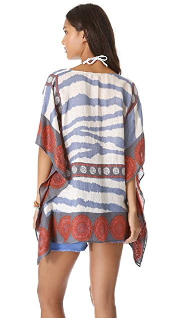 Theodora & Callum Nairobi Scarf Cover Up Top
