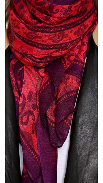 Theodora & Callum Chennai Wearable Art Scarf