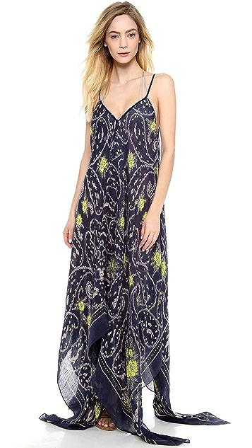 Theodora & Callum Marseilles Scarf Cover Up Dress