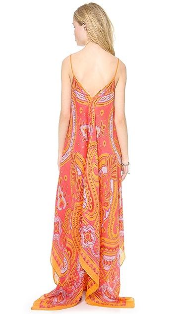 Theodora & Callum Bangalore Scarf Dress