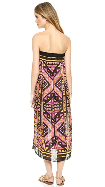 Theodora & Callum Giza Tube Dress / Maxi Skirt