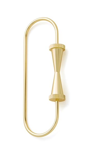 Tom Dixon Cog Key Ring Loop