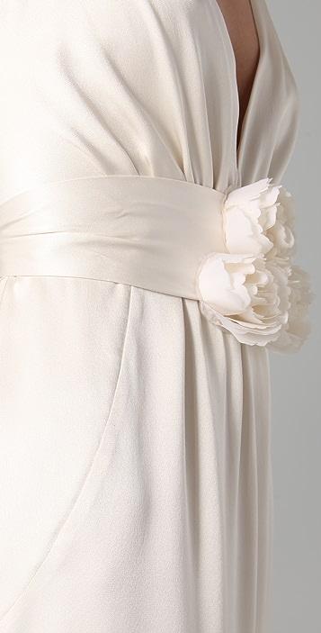 Temperley London Long Begonia Dress