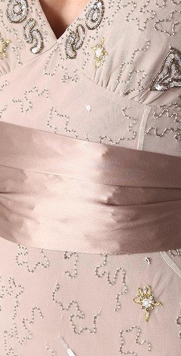 Temperley London Long Honeysuckle Dress