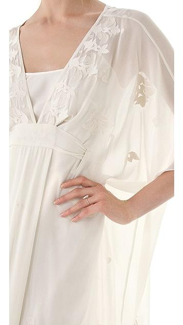 Temperley London Long Evita Caftan Dress