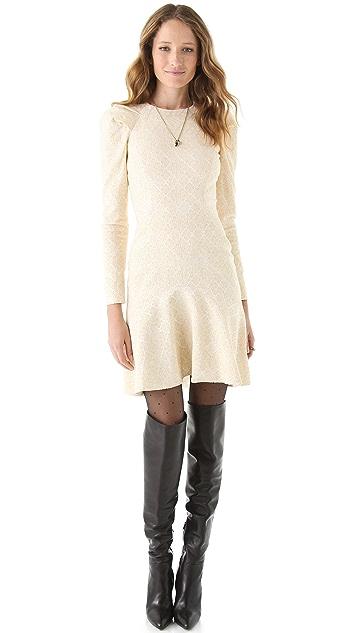 Temperley London Aspen Jacquard Dress