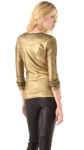 Temperley London Foil Sweater