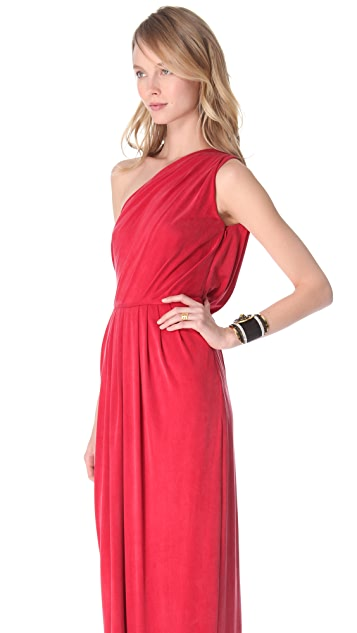 Temperley London Long Annabelle Jersey Dress