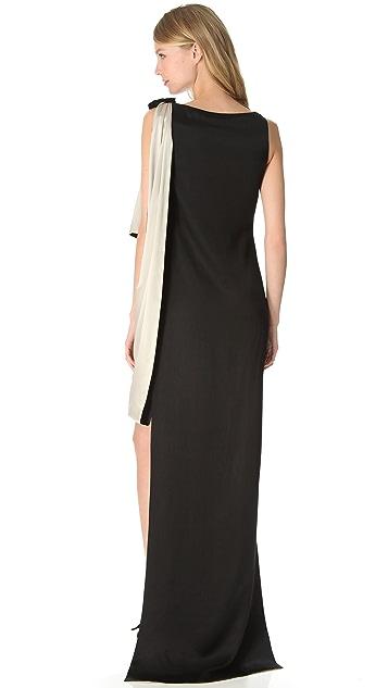 Temperley London Bijoux Drape Dress