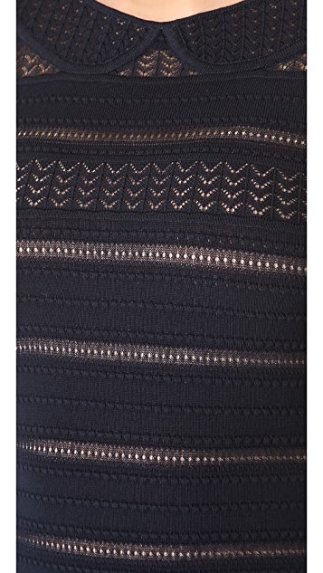 Temperley London Adora Knit Pencil Dress