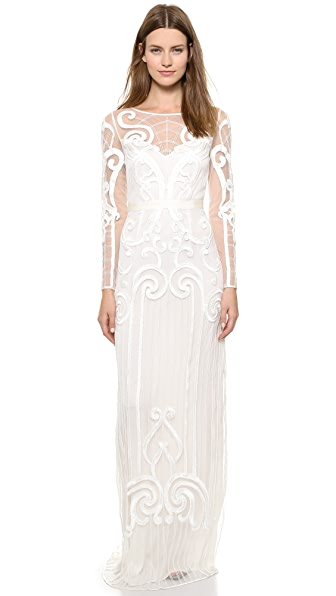 Temperley London Long Catroux Dress