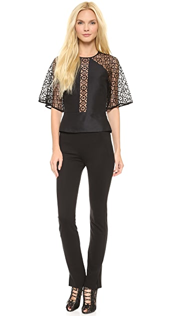 Temperley London Folk Lace Shirt