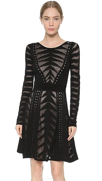 Temperley London Beau Knit Flare Dress